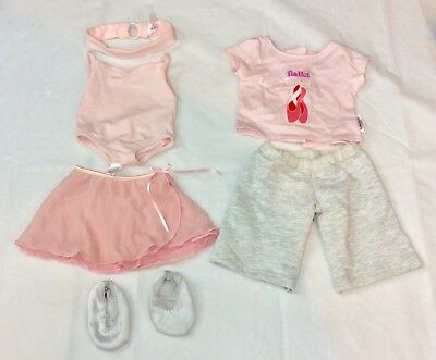 American Girl Doll ISABELLE 2 In 1 Ballerina Ballet Dance Outfit