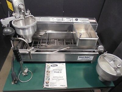 Donut Maker / Machine / Fryer / Donut Robot Belshaw Mark Ii >>>Nice<<< $5900.00