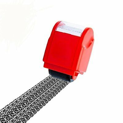 Identity Protection Roller Stamp Lionergy Wide Roller Identity Theft Prevention