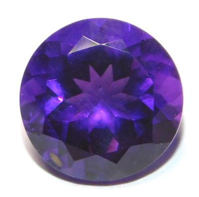NATURAL A++ QUALITY African Amethyst 6MM Round Cut Loose Gemstone FAM-07