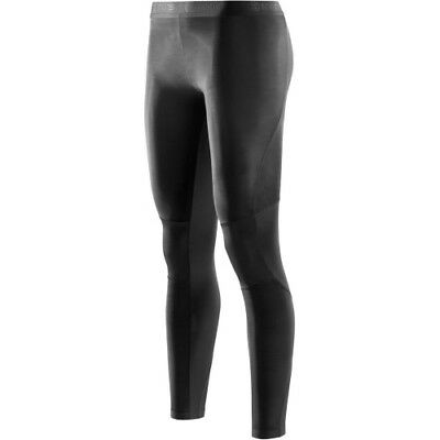 Skins Ry400 Compression For Recovery Long Womens Base Layer Leggings - Black