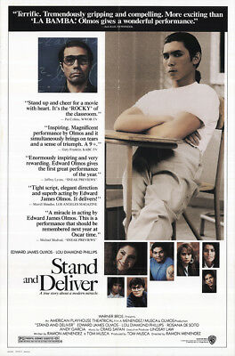 Stand and Deliver 1988 27x41 Orig Movie Poster FFF-31808 Fine, Very Good