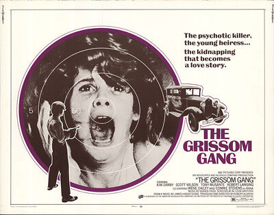 The Grissom Gang 1971 22x28 Orig Movie Poster FFF-56298 Never Folded Fine