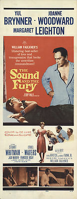 The Sound and the Fury 1959 14x36 Orig Movie Poster FFF-55690 Stuart Whitman