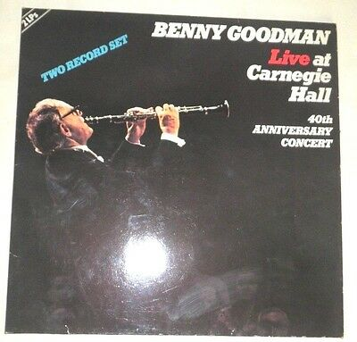 Dp Lp - Benny Goodman - Live At The Carnegie Hall