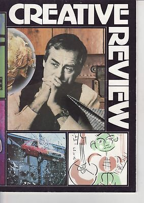 Creative Review Magazine August 1987