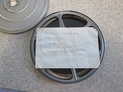 """Vintage Family Videos """"Holiday"""" 8MM Film On Reel Early 60's"""