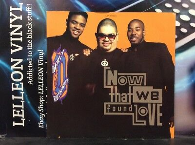 "Heavy D & The Boyz Now That We Found Love 12"" Single Vinyl MCST1550 Rap 90's"