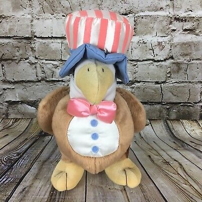 Precious Moments American Bald Eagle 11 Inch Tall Stuffed Plush Doll NWT Enesco
