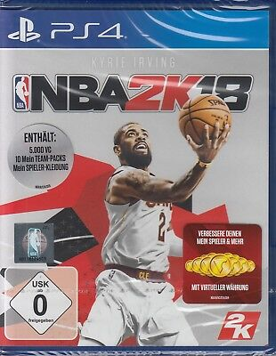 NBA 2K18 / Kyrie Irvin NBA2K18 - PlayStation 4/PS4 - USK 0 - NEU & OVP
