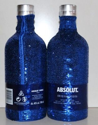 ★ Absolut Vodka UNCOVER SEQUIN 700 ml EOY Limited Edition 2017 ★