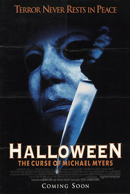 Halloween: The Curse of Michael Myers 1995 27x41 Orig Movie Poster FFF-57405