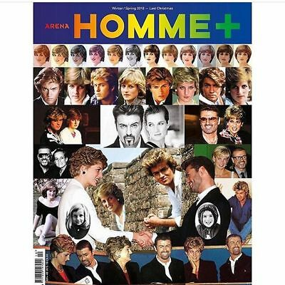 HOMME ARENA PLUS Magazine F/W 2017 George Michael Princess Diana SPECIAL EDITION