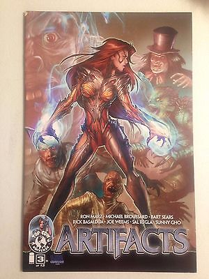 Artifacts #3 VA Comicon VACC Variant Witchblade Top Cow Image Comics