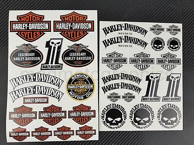 Harley chopper Dyna Sportster stickers Softail decals v-rod touring iron glide