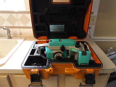 Nikon Npl-350 Pulse Laser Station With Accessories