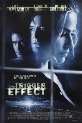 The Trigger Effect 1996 27x41 Orig Movie Poster FFF-52974 Rolled Elisabeth Shue