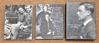 Sotheby's Auction Catalog THE DUKE DUTCHESS OF WINDSOR Books Letters Photos RARE