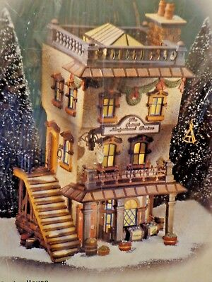 Dept 56 Dickens' Village Leed's Oyster House - NIB