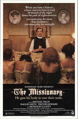 The Missionary 1982 27x41 Orig Movie Poster FFF-52736 Rolled Maggie Smith