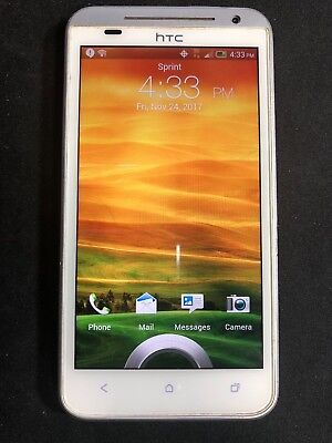 HTC EVO 4G LTE - 8GB - White (Sprint) Smartphone *Great Condition*
