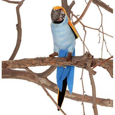 """""""Hansa 7"""""""" Blue and Yellow Parrot"""""""