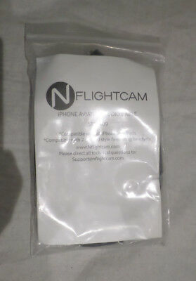 Nflightcam Iphone Aviation Audio Cable Sku 409 Blk