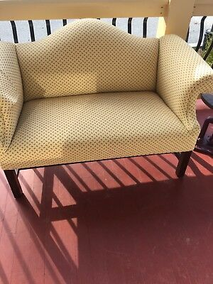 Chippendale love seat