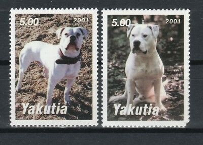 AMERICAN BULL DOG ** Int'l Dog Stamp ** Great Gift Idea*