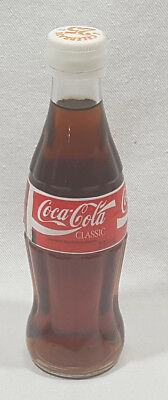 Coca Cola Classic Coke Glass Bottle 237ml. Celebrate 25 Plastic Twist Off Cap