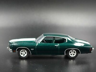 1970 Chevrolet Chevelle Ss 396 John Wick 2 1/64 Collectible Diecast Model Car