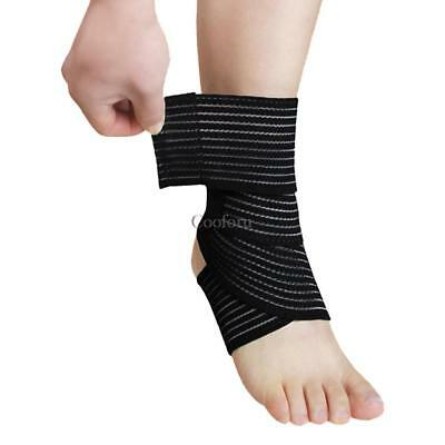 Compression Elastic Brace Knee Elbow Ankle Support Bandage Strap Sleeve CO99 01