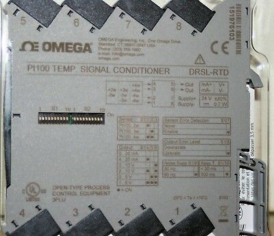 Pt100 TEMP SIGNAL CONDITIONER Omega DRSL-RTD