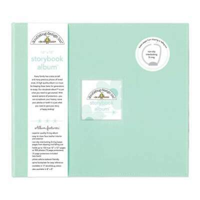 NEW Doodlebug Storybook Album 12 inch X12 inch Mint