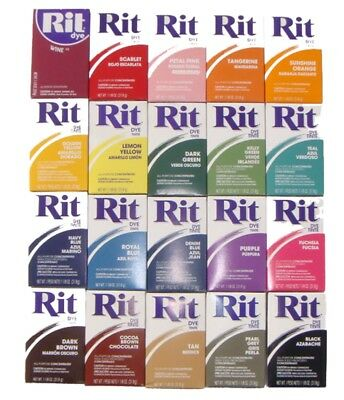 Rit fabric Dye- powder concentrate dye- great colours