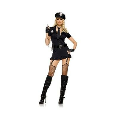 714718379142 COSTUME SEXY DIRTY COP - Taglia XL