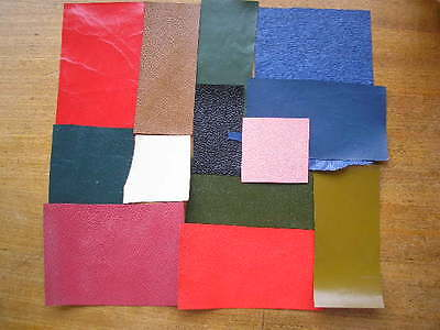 Leather VERY Thin, offcuts for 1/12th &1/24th. scale books bags shoes HB