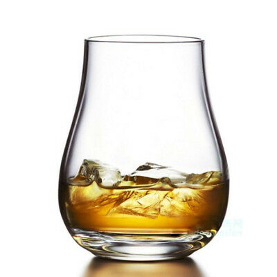 Set of 6 Crystal Glass Cup Beer Whiskey Rum Scotch GLASSES- Spirit Drinking Wine