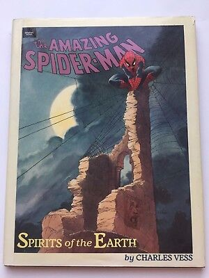 The Amazing Spider-Man: Spirits of the Earth by Charles Vess 1990 First Printing