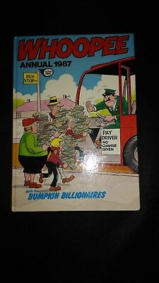 Whoopee 1987 Vintage U.K Comic Book Annual
