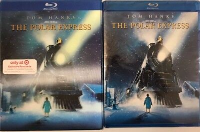 Tom Hanks The Polar Express(Blu-Ray)Lenticular 3D Art Cover Target Exclusive