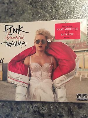 PINK - BEAUTIFUL TRAUMA CD (EXPLICIT) - P!NK - Brand New and Sealed in Case