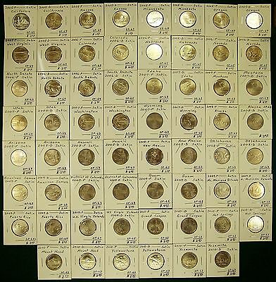 Complete Set of Satin Finish Quarters, 2005 to 2010 (State/DC/Territory/ATB)