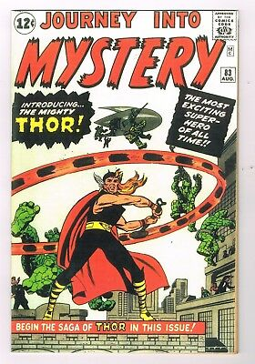 JOURNEY INTO MYSTERY # 83 coverless  1st appearance of THOR! PRICE REDUCED!