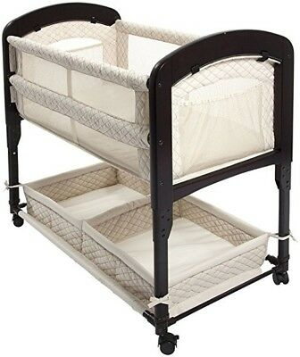 Baby Crib Bassinet Bed Sleeper Cradle Infant Child Newborn Nursery Furniture Kit