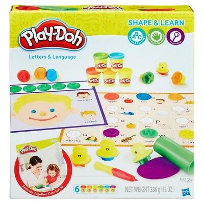 NEW Playdoh Letters And Language from Mr Toys