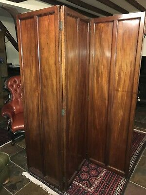 Victorian Screen, Walnut, Superb Patina, Excellent Condition