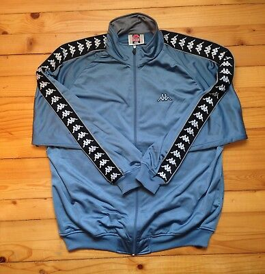 0793cd2cd9f Vintage KAPPA track jacket windbreaker / 80s 90s Hip hop Rap Old school /  sz XL