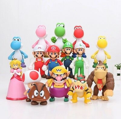 Super Mario Figur Nintendo Action Comic Kult Spiel Figuren Doll Cartoon Figure