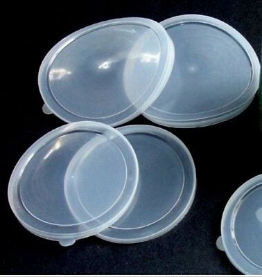 2 x 10 CM Pet Food Can Cover Lid Dog Cat Pet Plastic Reusable Storage Cap